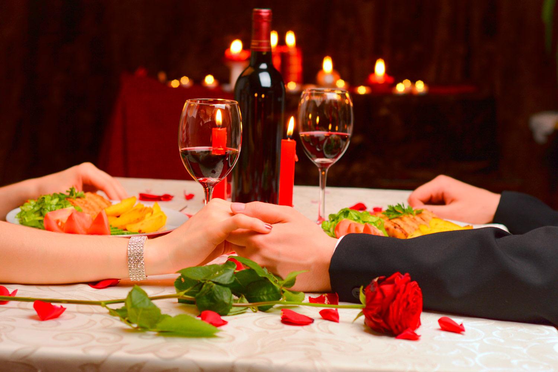 detalles romanticos cena