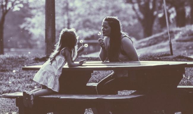 felicidad con mama